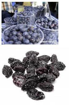 Slabokrvnost in železo v hrani za odpornost - borovnice in slive