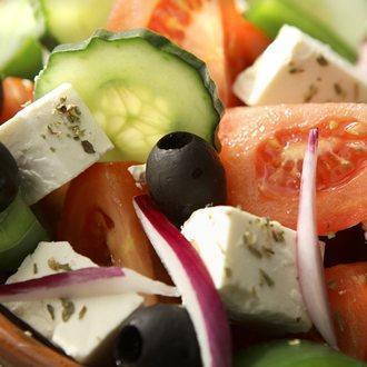 Grška solata zelenjava