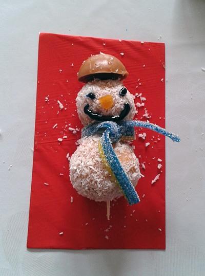 Snežaki - sladice brez peke - smejko