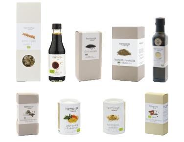 Izdelki iz konoplje - Harmonija v kuhinji - mali paket
