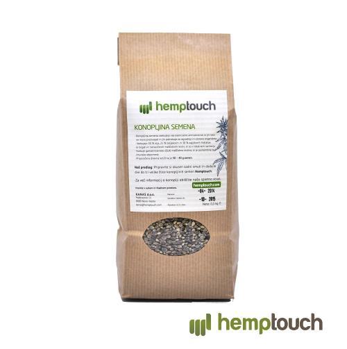Neoluščena konopljina semena Hemptouch
