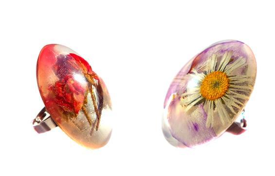 Cvetlični nakit- nova kolekcija cveltičnega nakita za ženske iz e-trgovine Unikatnica.com