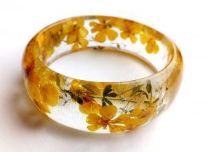 Cvetlični nakit - unikatna darila - zapestnica